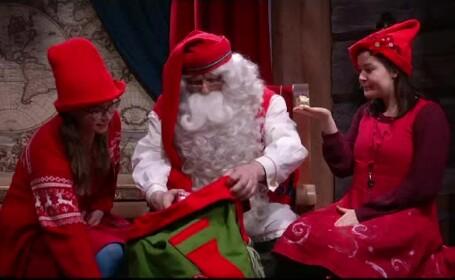 Pregătiri în satul lui Moş Crăciun din Laponia. Câţi copii l-au vizitat anul acesta