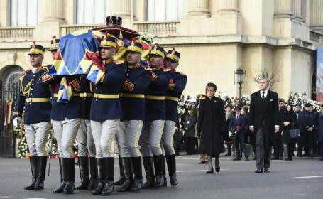 Regele Mihai I al României a fost condus pe ultimul drum