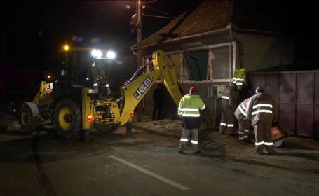 Doi soți din Sibiu, răniți și rămași pe drumuri din cauza unei explozii care le-a distrus casa