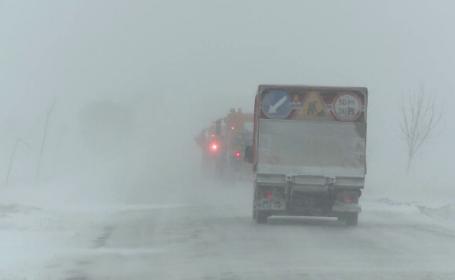 100 de panouri care asigura protecția împotriva zăpezii, furate de pe DE85