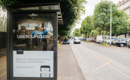 reclama Uber in Paris