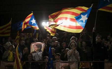 campanie electorala in Catalonia