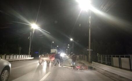 Cal maltratat de doi bărbaţi în plină stradă, la Alba Iulia. Poliția a început o anchetă