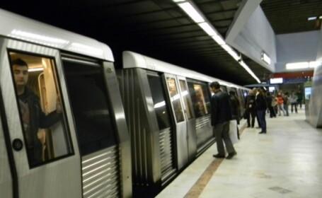 Trafic îngreunat la metrou, marți dimineața, din cauza unei defecțiuni tehnice