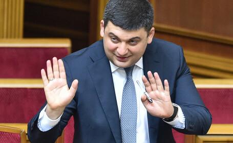 Un colaborator al premierului ucrainean Volodimir Groisman, reţinut sub acuzaţia de spionaj în favoarea Rusiei