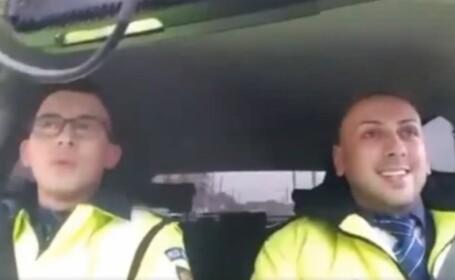 politist, colinde, rutiera, masina,