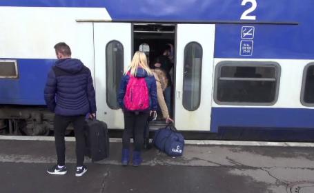 CFR Călători va trece duminică la ora de vară. Cum vor circula trenurile