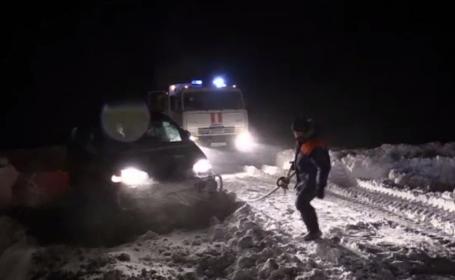 Insula Sahalin, din Orientul Îndepărtat Rus, lovită de furtuni violente. Vântul a atins 150 de km/h