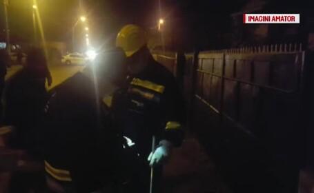 Pompierii au dat întâmplător peste un bărbat mort, în Ploieşti