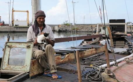 Marinar polonez, salvat după 7 luni în care a plutit pe ocean împreună cu pisica lui