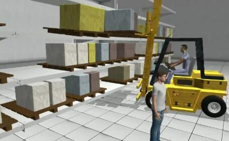 animatie accident Selgros