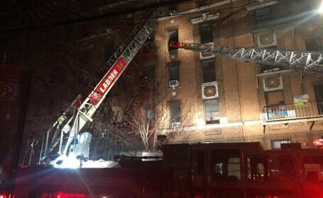 Incendiu soldat cu 12 morţi, printre care un bebeluş, în New York