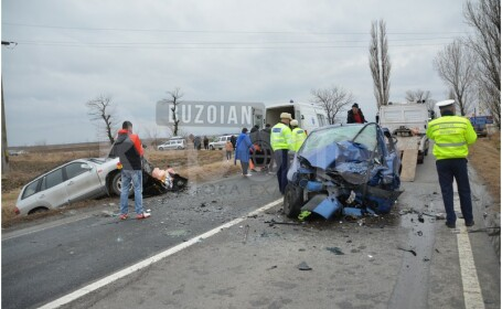 Incident grav la ieşirea din Buzău. O femeie a murit în accidentul rutier provocat de fiica sa