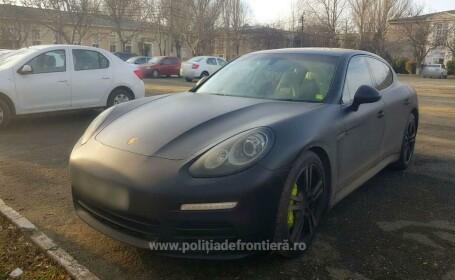 Un Porsche furat acum o săptămână din Marea Britanie a fost găsit în Constanţa