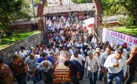 Primarul unui oraş din Mexic, împuşcat când lua masa la restaurant