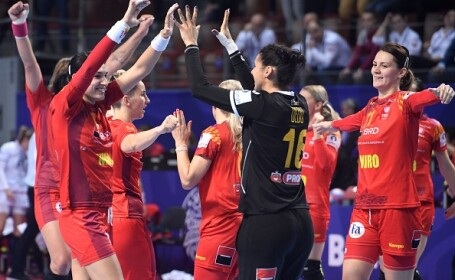 România a învins Germania la handbal feminin şi s-a calificat în grupele principale la EURO 2018