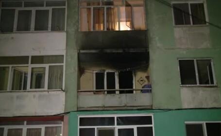 incendiu bloc filiasi