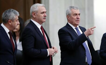 Florin Iordache, Liviu Dragnea, Calin Popescu Tariceanu