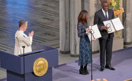 Laureaţii premiilor Nobel 2018 și-au primit primit distincţiile la Stockholm. FOTO