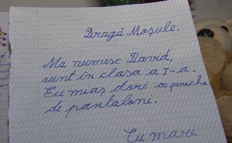 Scrisoarea unor fraţi sărmani pentru Moş Crăciun. Au fugit de acasă de teama tatălui