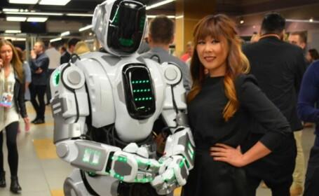 robot, rusia, costum,