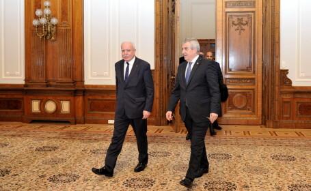 Calin Popescu Tariceanu, Riad Malki