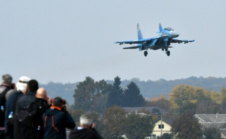 Tragedie aviatică în Ucraina. Un avion al armatei s-a prăbușit
