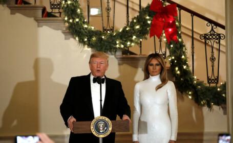 Ținuta spectaculoasă purtată de Melania Trump la Balul Congresului SUA