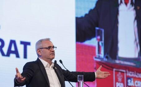 Liviu Dragnea la Consiliul National al Partidului Social Democrat