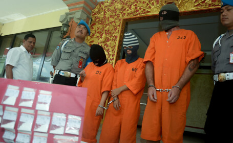 Condamnat pentru trafic de droguri in Bali