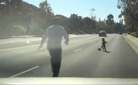 Un copil de 2 ani, salvat de la moarte în ultima clipă. VIDEO cu momentul