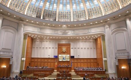 motiune, parlament