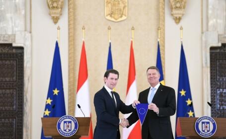 România a preluat simbolic de la Austria preşedinţia Consiliului UE