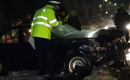 Un şofer băut a lovit 3 pietoni pe trotuar. \