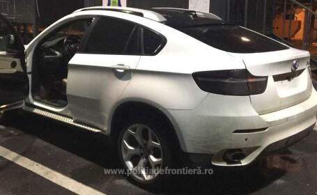 Un român a rămas fără BMW-ul X6 la intrarea în România. Ce a pățit
