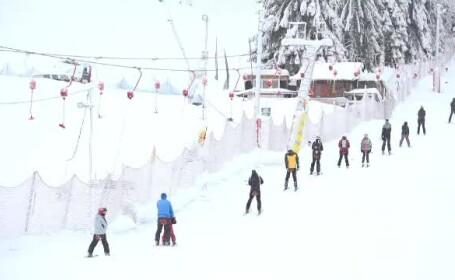 Surpriză neplăcută pentru turiștii care s-au dus să schieze de Crăciun la Băișoara