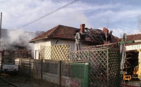casa dolj, incendiu