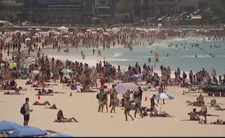 În timp ce Europa se confruntă cu gerul, australienii se topesc la peste 40 de grade