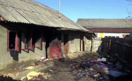 Un bătrân din județul Neamț a murit într-un incendiu, în propria casă