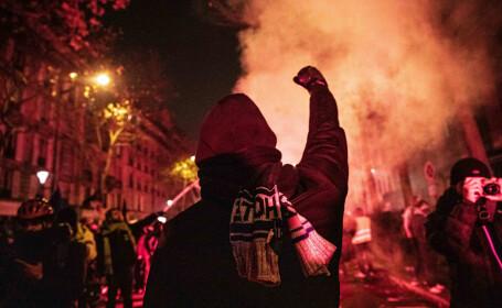 Francezii protestează față de noua reformă a pensiilor