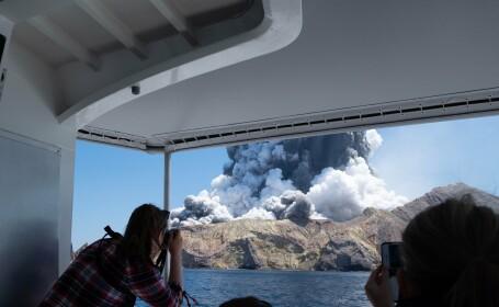 Erupţia vulcanică din Noua Zeelandă. Șase morţi, 31 de răniţi grav şi opt dispăruţi. VIDEO