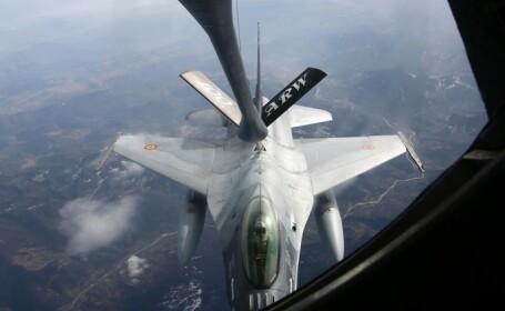 Senatul a adoptat proiectul privind achiziţia a cinci avioane F16
