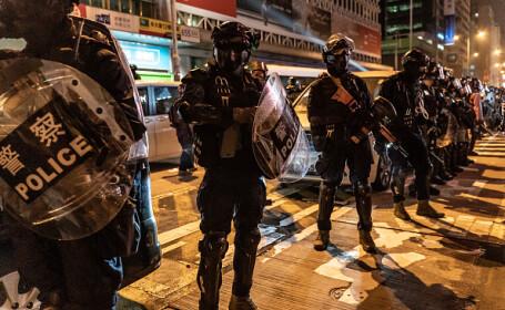Noi proteste în Hong Kong, soldate cu violență. S-a intervenit cu gaze lacrimogene