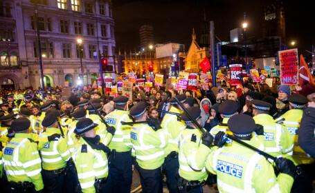 protest Londra