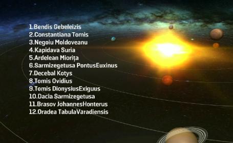 nume planetă