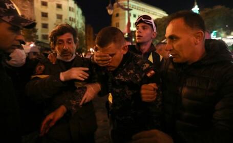 Zeci de răniţi în urma unor confruntări la Beirut. \
