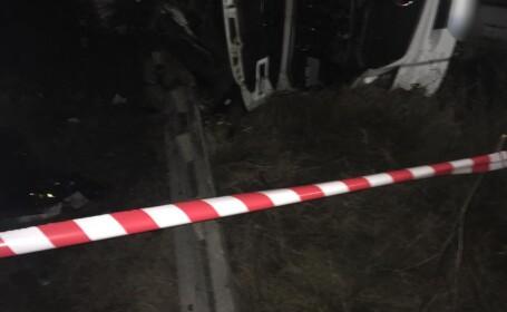 Accident grav în Teleorman. Un mort și cel puțin 9 răniți