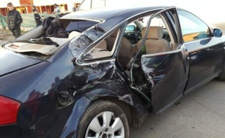 Accident grav în Slatina. Șoferul care a produs accidentul ar fi fost drogat