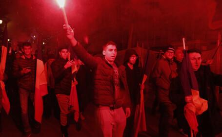 Marș de comemorare a Revoluției din 1989 la Timișoara
