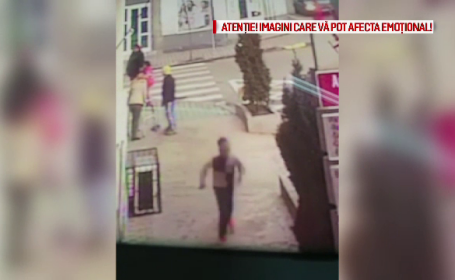 Scene de groază în Galați. Un bărbat și-a înjunghiat în plină stradă soția
